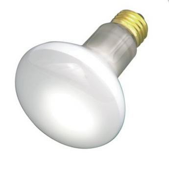 Satco S4886 50W R20 Frost Shatter Proof Incandescent Bulb