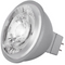 Satco S8635 8W MR16 LED Bulb - 15° Beam Spread, GU5.3 base, 2700K