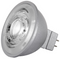 Satco S8640 8W MR16 LED Bulb - 40° Beam Spread, GU5.3 base, 2700K