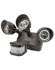 SLB 3-Head LED Security Lights with Sensor