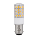 4.5W Dimmable LED Bulb - BA15D Base, 120V