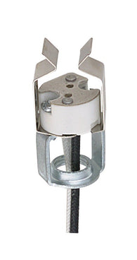 D3996 GU5.3 Porcelain Bi-Pin Halogen Socket - 10 pack