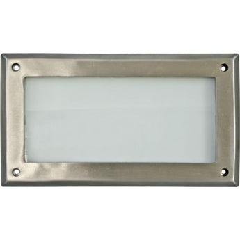 DSL1001 Recessed Open Face Brick/Step/Wall Light