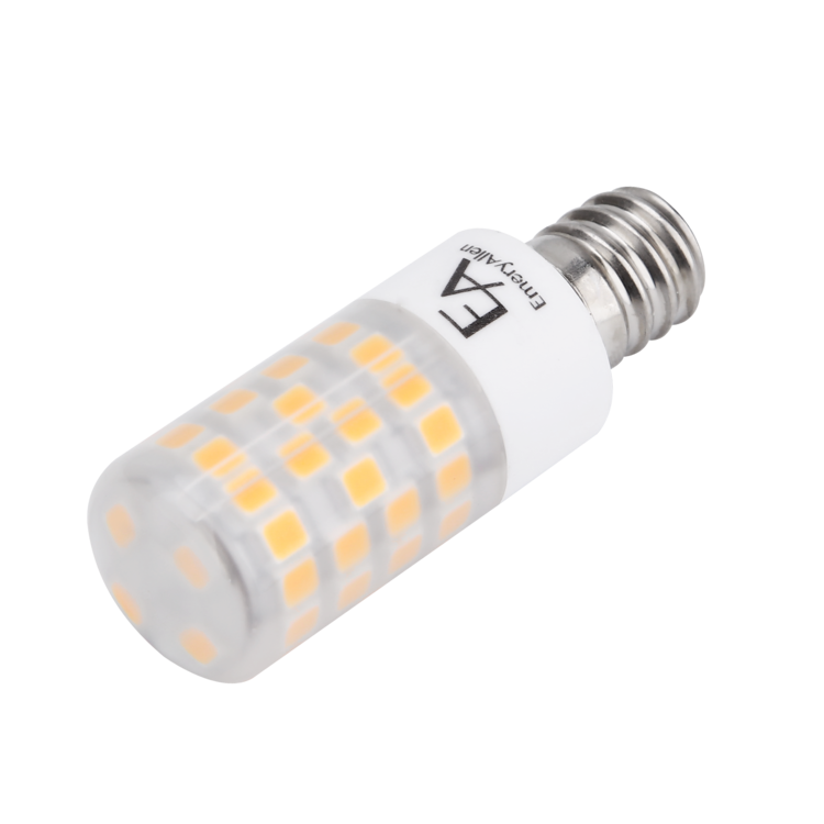 4.5W Dimmable Miniature LED Bulb - E12 Base, 120V