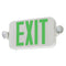 Lithonia Contractor Select ECC LED Exit/Emergency Combo - Green Letters