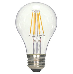 Satco S8608 6.5W A19 Dimmable LED Bulb