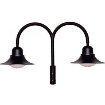 GM605 LED Drop Light Post Top Mount - Double Arm