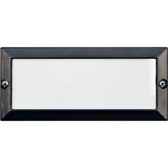 LV602 Recessed Louvered Down Brick/Step/Wall Light