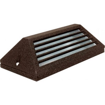 LV608 Surface Mount Louvered Down Brick/Step/Wall Light