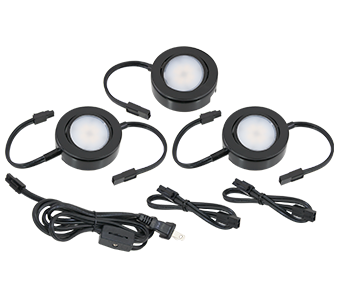 American Lighting MVP LED Puck Light - Three Puck Kits