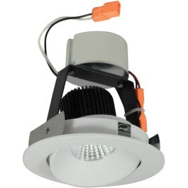 "4"" Retrofit LED Iolite Round Adjustable Regressed Cone Trims - 5000K"