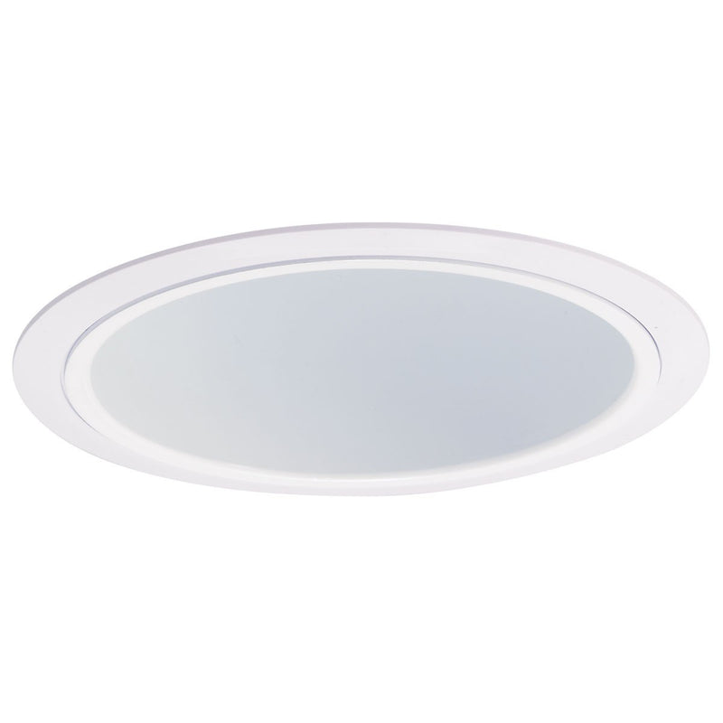 "6"" Specular White Reflector with White Plastic Ring"