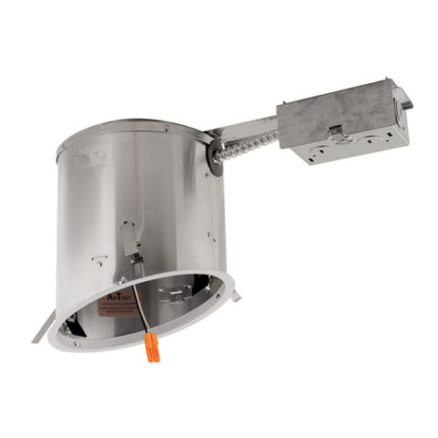 "6"" LED IC Airtight Sloped Ceiling Remodel Housing"