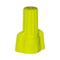AH Lighting P11 Winged Wire Connector Yellow (500/Bag)