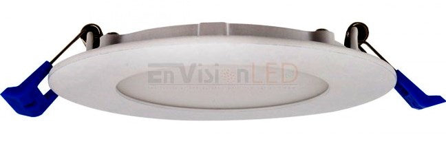 "4"" J-Box Round Panel Downlight CCT Selectable"