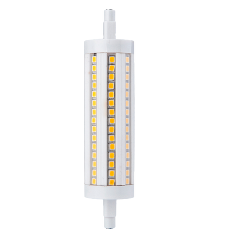 10W Non-Dimmable LED Bulb - R7S Base, 120V