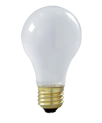 Satco A19 Frost Shatter Proof Incandescent Bulb - 2 Pack
