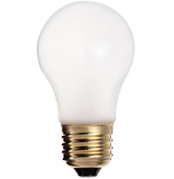 Satco S4882 60W A15 Frost Shatter Proof Incandescent Bulb