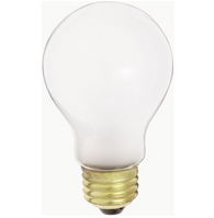 Satco S5023 100W A21 Frost Incandescent Bulb