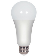 Satco S8788 16W A21 Frost Non-Dimmable LED Bulb