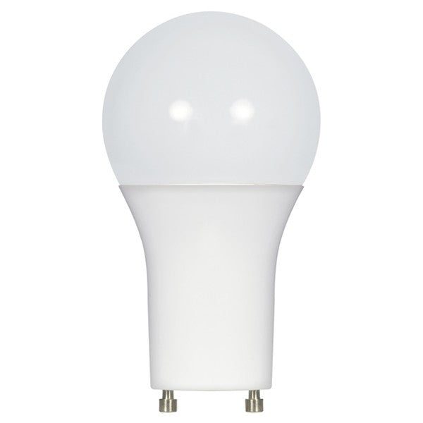 Satco S9707 10W A19 Dimmable LED Bulb,  2700K- GU24 Base