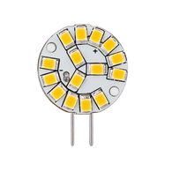 2W Wafer Miniature LED Bulb - G4 Base, 12V