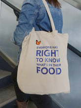 Non-GMO Project Canvas Tote Bag