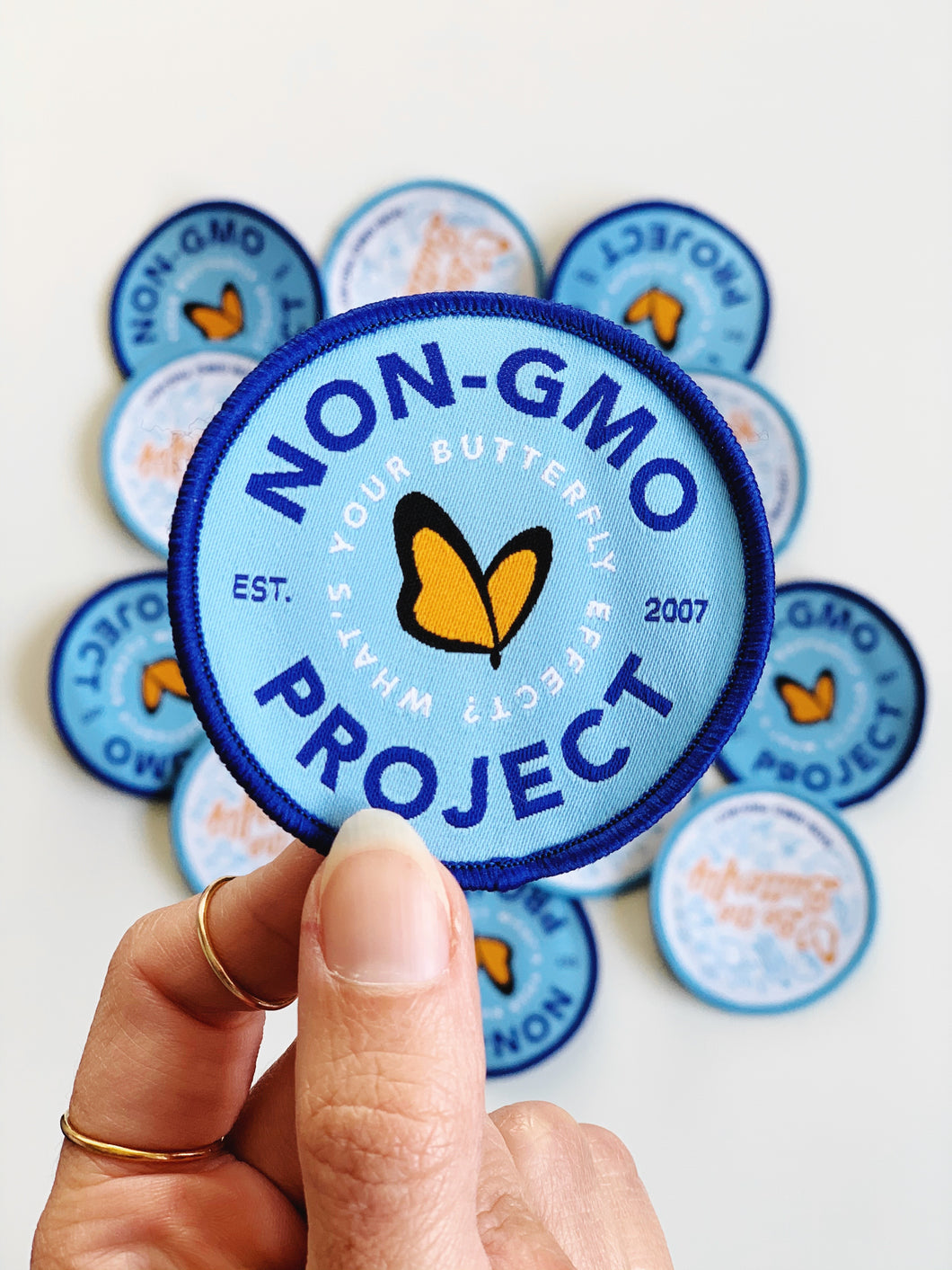 Non-GMO Project Patch - Butterfly Effect