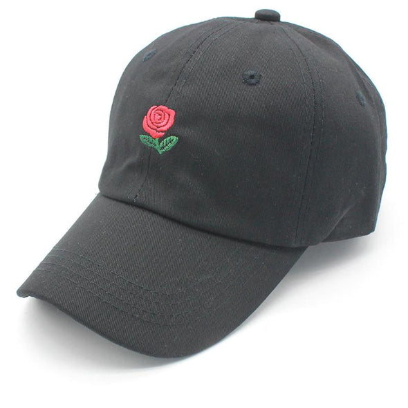 Rose Dad Hat Black/Green/Khaki