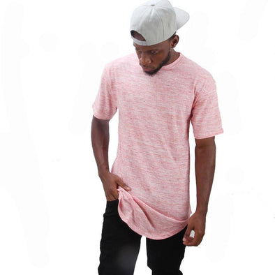 Marble Scoop T-shirt Pink