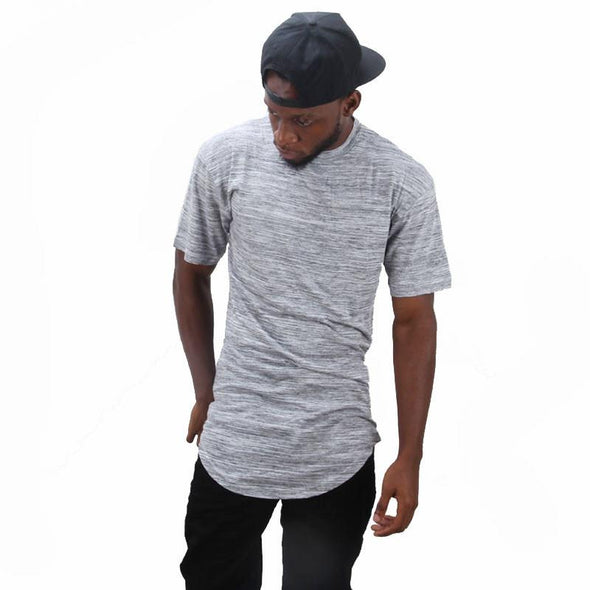 Marble Scoop T-shirt Grey