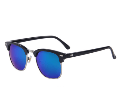 Polarized Retro Rivet Sunglasses