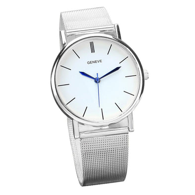 Silver Stone Watch