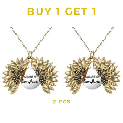 🌻You Are My Sunshine Sunflower Necklace - Buy 1, Get 1