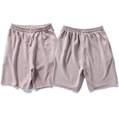 Upper Status French Terry Shorts Tan