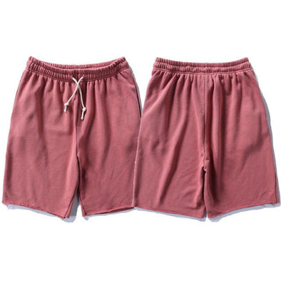 Upper Status French Terry Shorts Red