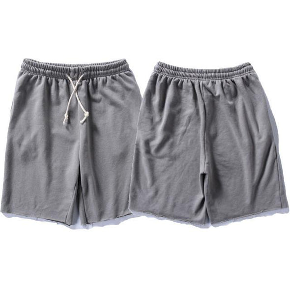 Upper Status French Terry Shorts Grey