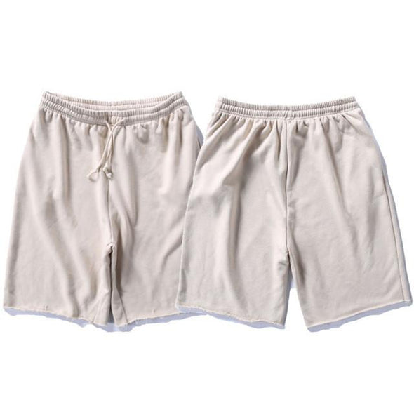 Upper Status French Terry Shorts Cream