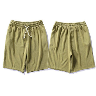 Upper Status French Terry Shorts Green