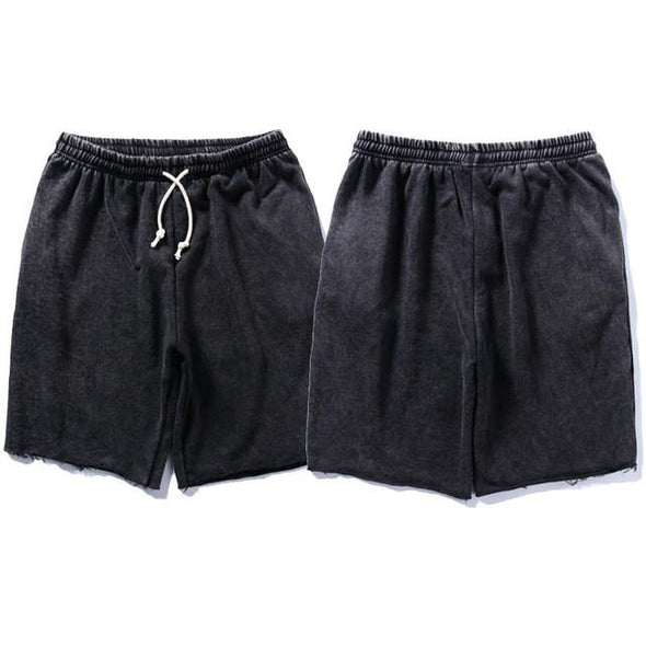 Upper Status French Terry Shorts Black