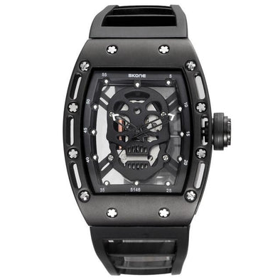 SKONE Skull Quartz Men's Watch