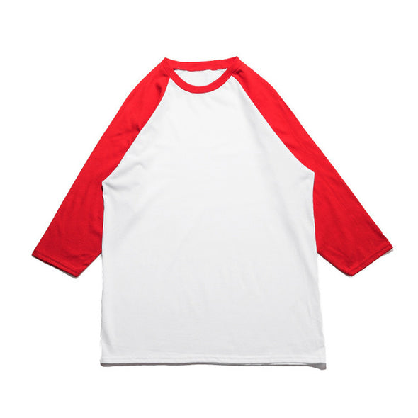 STATUS TONES 3/4 RAGLAN SLEEVE RED