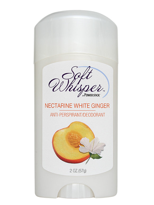 Soft Whisper Nectarine White Ginger Antiperspirant Deodorant 2 oz.