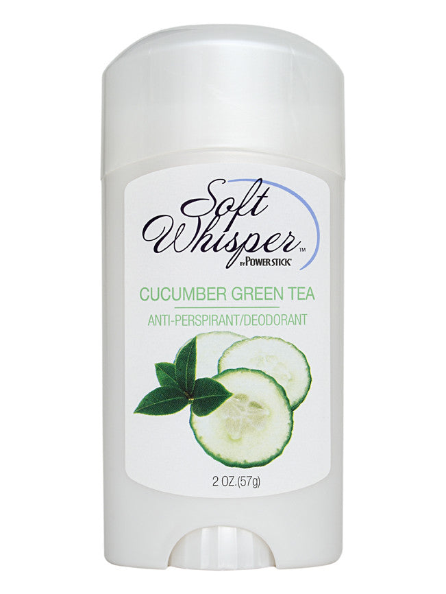 Soft Whisper Cucumber Green Tea Antiperspirant Deodorant 2 oz