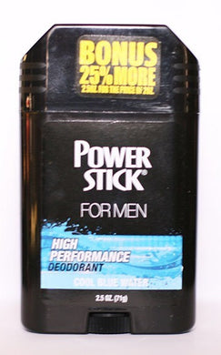 Power Stick Cool Blue Water Deodorant 2.5 oz.