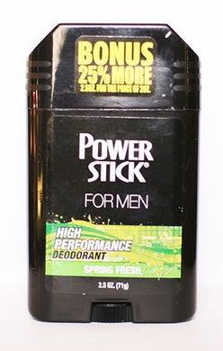 Power Stick Spring Fresh Deodorant 2.5 oz.