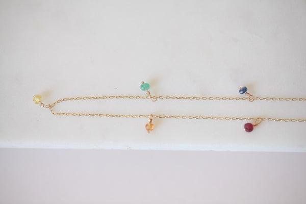Rainbow Shaker Necklace