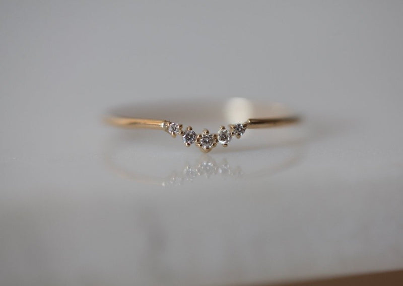 Ballerina Diamond Ring