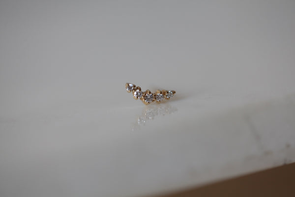 Ballerina Diamond Earring | Ready To Ship