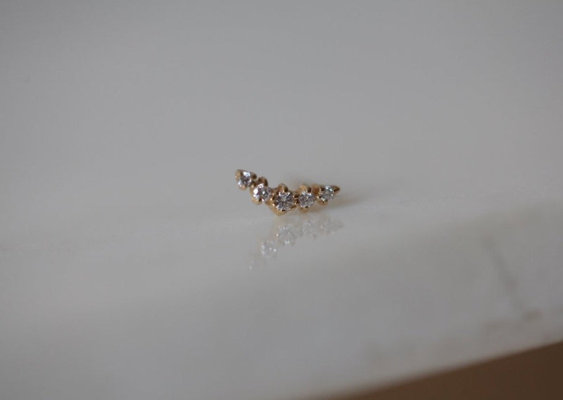 Ballerina Diamond Earring